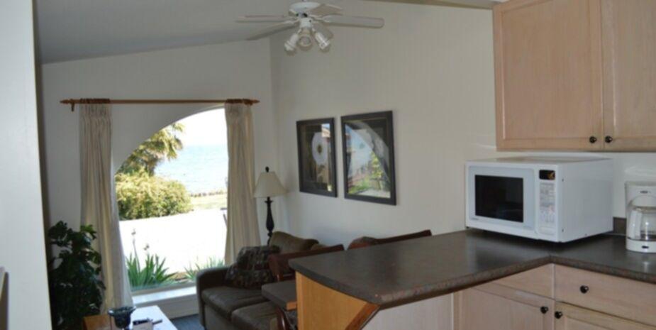 2 Bedroom Suite Kitchen | Beach Front Vacation Rentals